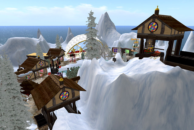 Christmas Village Platform.Nil S Christmas Village You Arrive At The Top Platform And