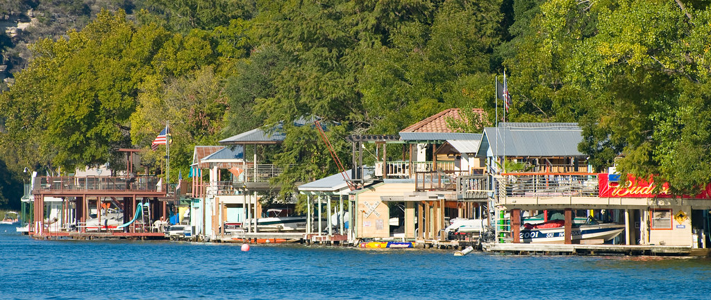 Boat Houses, Lake Austin