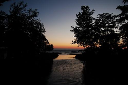 sunset ontario canada beach creek geotagged hillsboro geo:lon=82088814 geo:lat=43116586