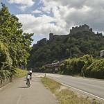 Ciclisti e Rheinfels