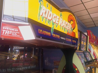 Only found in Blackpool now... Ridge Racer 2 arcade | by cubicgarden