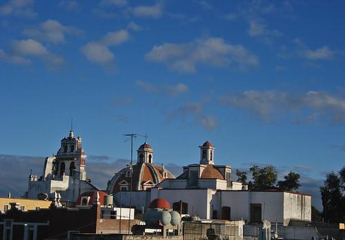 Puebla - Cúpulas de El Carmen en octubre