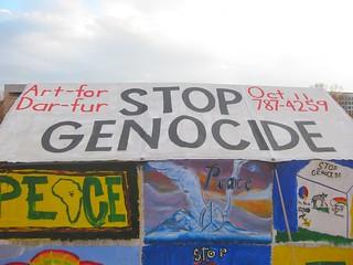 """Darfur: """"Stop genocide"""""""