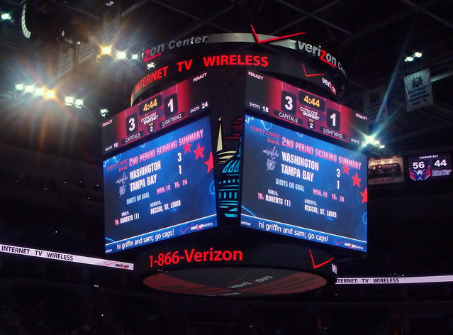 Washington Caps Win!