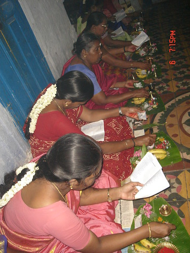 LORD SHIVA POOJAI PERFORMED BY LADIES OF TACHANALLUR AT GO