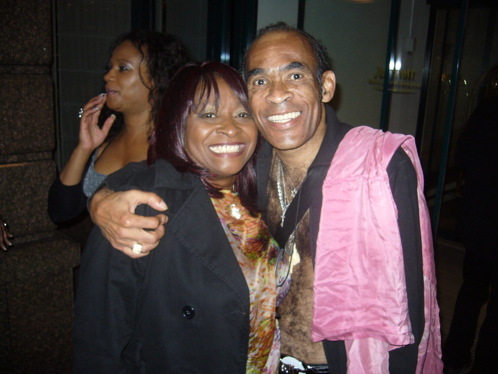 Linda Lee Hopkins With Bobby Farrell Boney M This Pictu Flickr