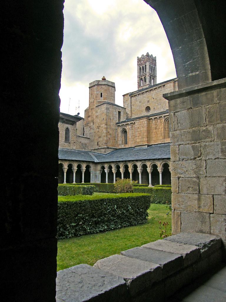 Claustre de la Catedral de la Seu d'Urgell ('Claustro de la catedral de la Seo d'Urgell','Cloister of the cathedral of Seo d'Urgell')