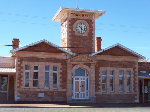 Menzies Town Hall | by Michael Gorey