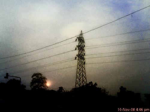road new sunset urban sun india its landscape phone delhi mo dfc naturesfinest
