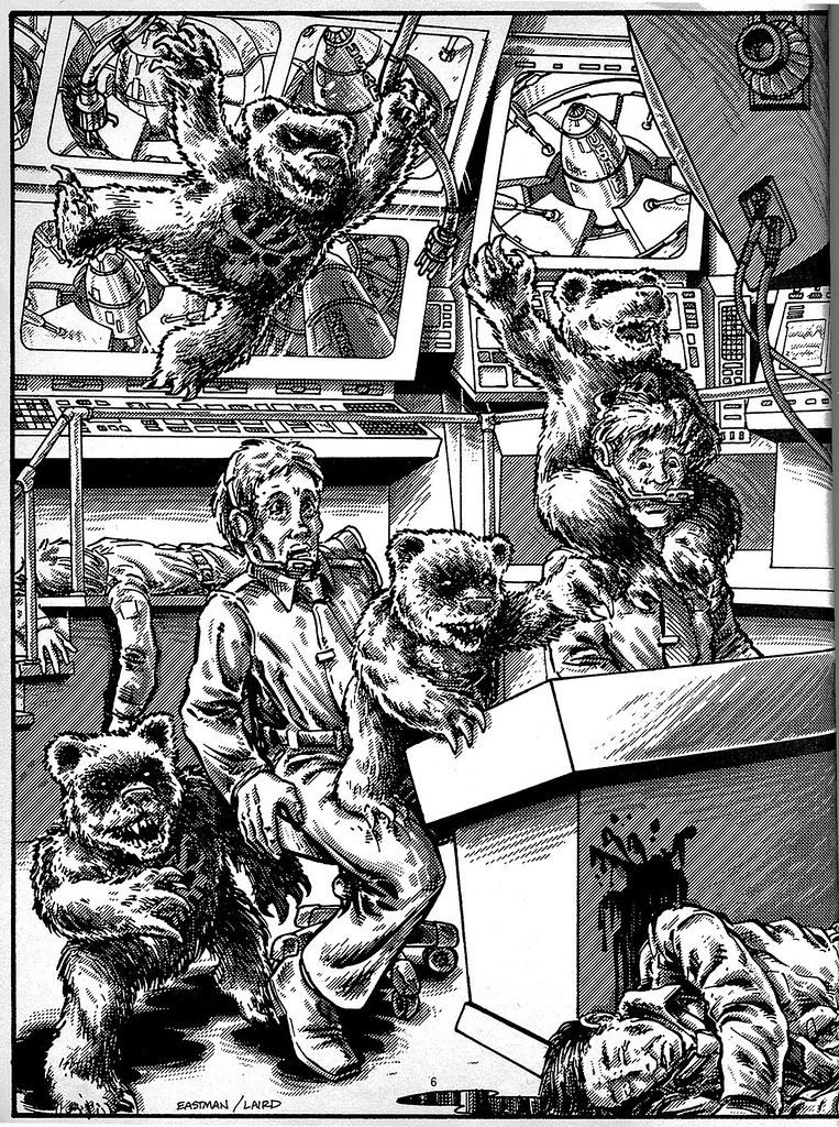 THE DOOMSDAY BEARS .. { The Terror Bears } by Kevin Eastman & Peter Laird from 'Teenage Mutant Ninja Turtles Adventures' by Erik Wujcik (( 1986 )) by tOkKa