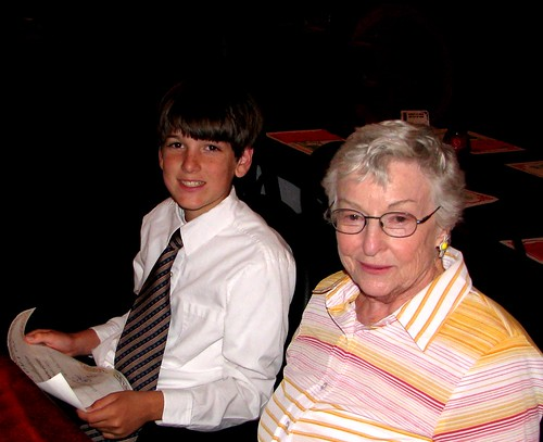 grandmother and grandson | by Rennett Stowe