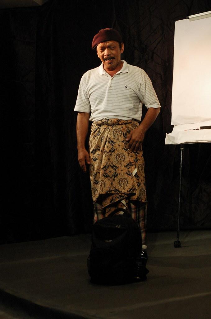 Teater Monodrama 'Jual Ubat' - Khalid Salleh #