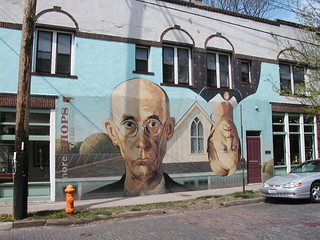 A play on the famous Grant Wood painting - Short North, Columbus, OH | by neighborhoods.org