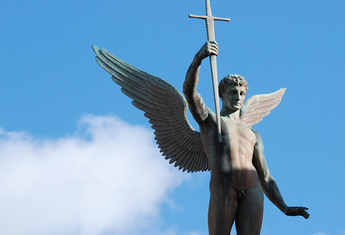 Winged messenger of victory