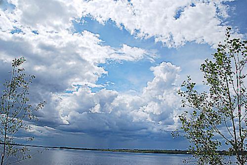 Cloudscape over the Outaouais