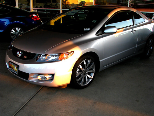 2009 Honda Civic Coupe   by Rennett Stowe