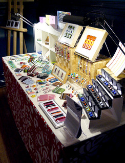 my stall at Handm@de (mid-afternoon)