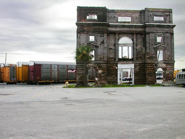 Bennett Rice Mill Facade - Port Of Charleston, SC