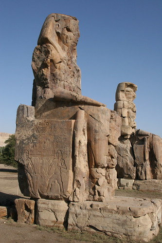 Colossi of Memnon | by zoonabar