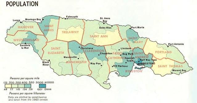 Jamaica Parish Map | Flickr - Photo Sharing!