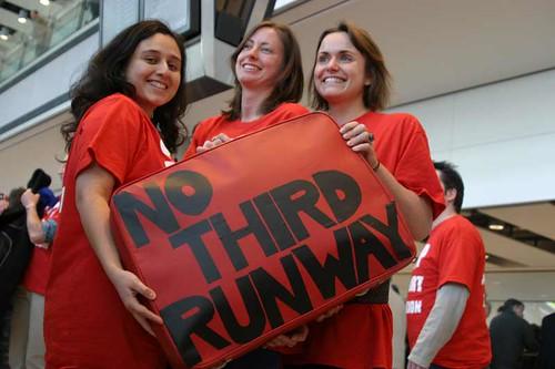 No third runway | by Greenpeace UK