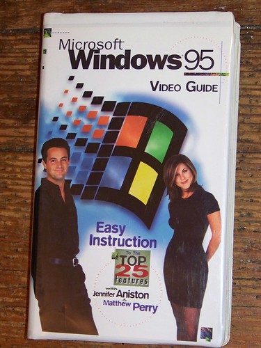 MS WINDOWS 95 VHS VIDEO GUIDE | by spike55151