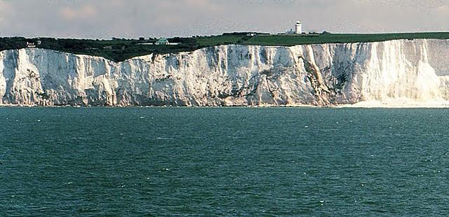 Richtung Insel, Kreidefelsen von Dover   - 1 / 8405