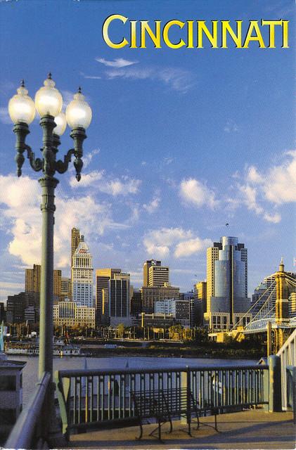 Cincinnati, Ohio Postcard
