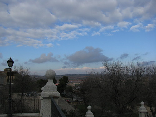 Toledo Sky, seen from the Alcazar | by Bogdan Migulski