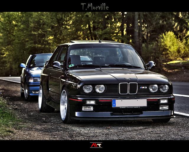 Little black monster, BMW M3 E30 - Nurburgring Nordschleife (HDR) - Germany