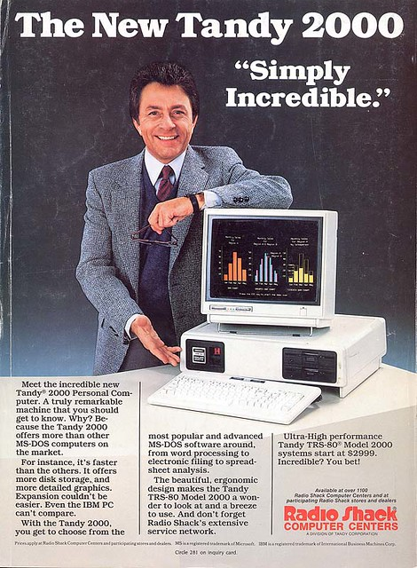 Bill Bixby for Tandy 2000