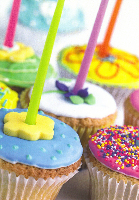Cup Cakes & Candles Postcard