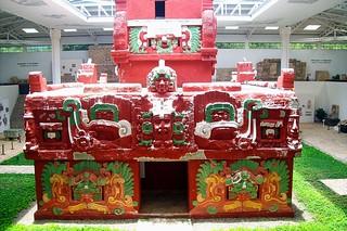 Copan Ruinas - Museum of Maya Sculpture: Rosalila Temple replica | by Adalberto.H.Vega
