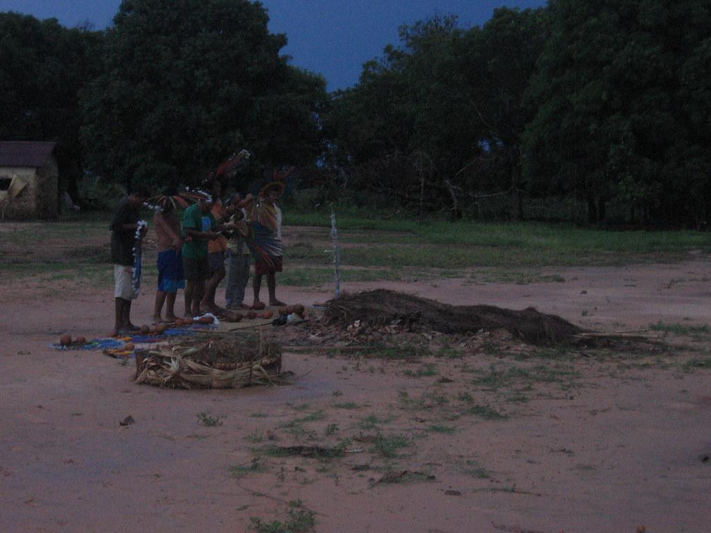 Funerale Bororo - Aldeia di Garças
