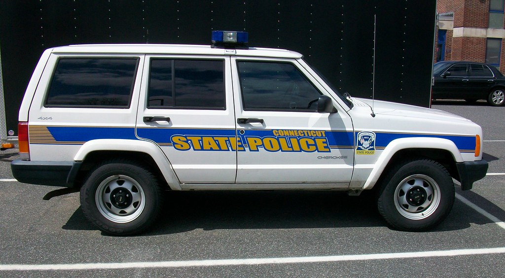 CT State Police Jeep | Meriden CT State Police Academy | Len