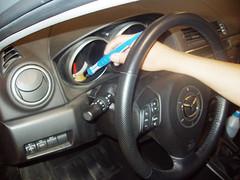 Lavado a mano. Mazda 3