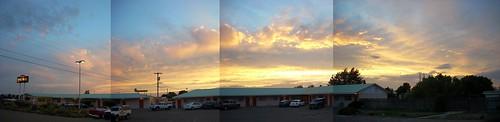 sunset sky panorama newmexico clouds evening roadtrip nm