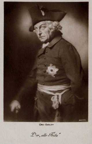 Otto Gebühr in Der Alte Fritz (1928)