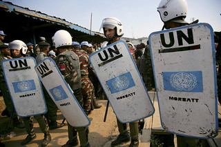 Peacekeepers Provide Security at Trial in DR Congo | by United Nations Photo