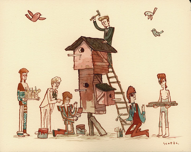 Building With The Bowies