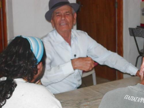 Con Juan Ramón Rodríguez, el poeta de Tiscamanita (Fuerteventura)