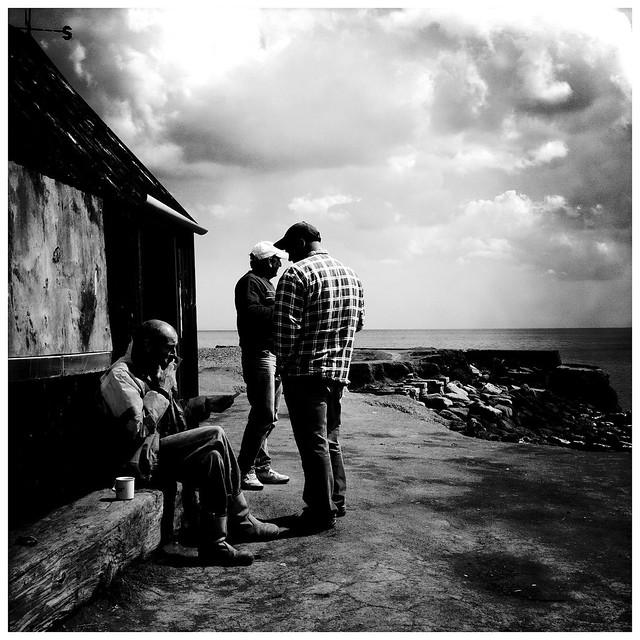 Fishermen, Port Mulgrave, Yorkshire