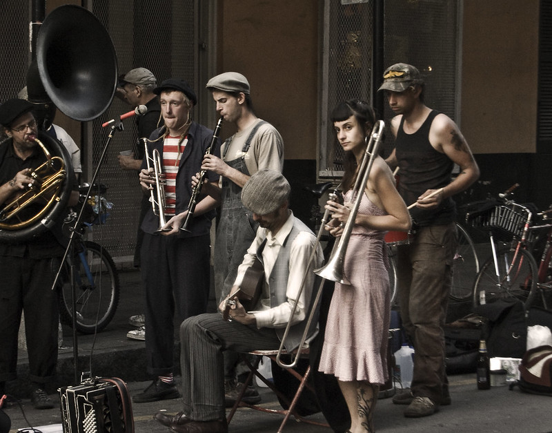 Sour Mash Hug Band - New Orleans Jazz on the Street