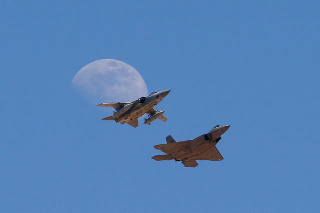 Moon Over My Tornado and Raptor