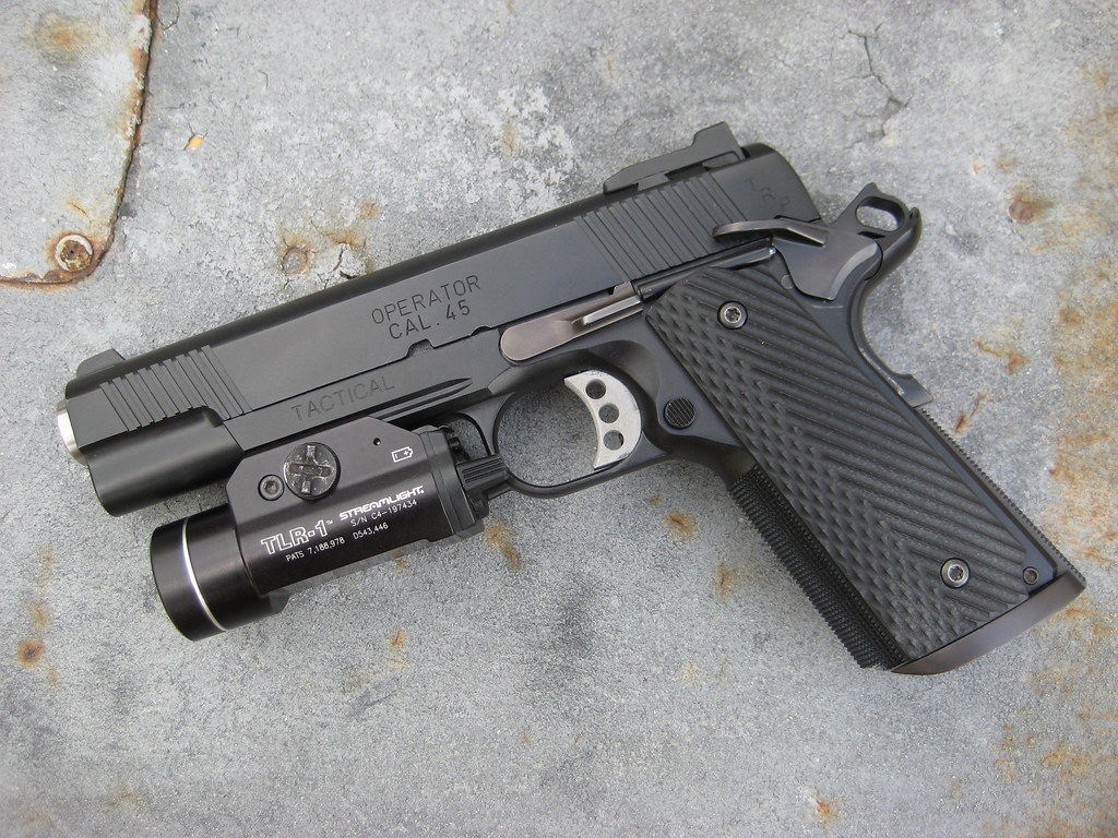 TRP Operator   Springfield Armory TRP Operator, fitted with