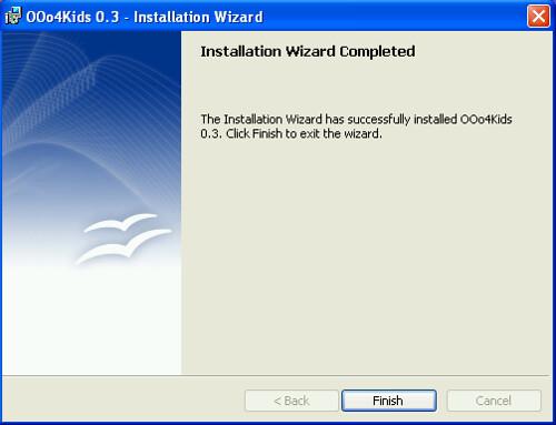 OOo4Kids - Installation Wizard
