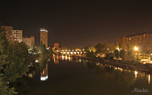 Vista del Pisuerga en Valladolid