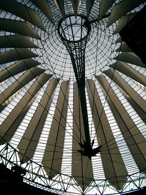Glass ceiling in Berlin