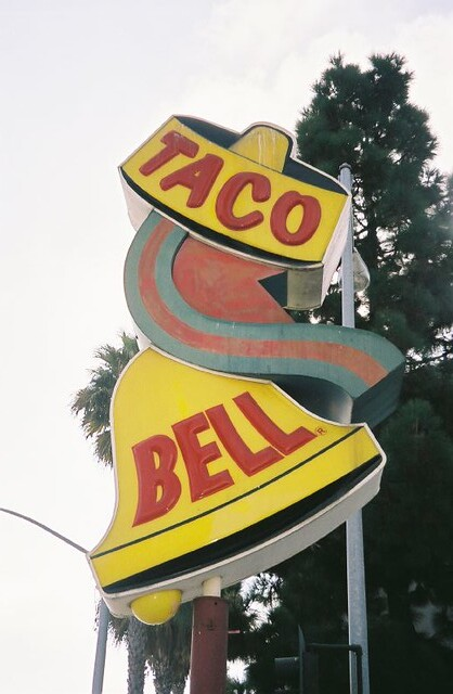 Vintage Taco Bell Sign in Venice | Dina Marie | Flickr