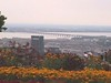 Mont Royal-Vista del centro de Montreal